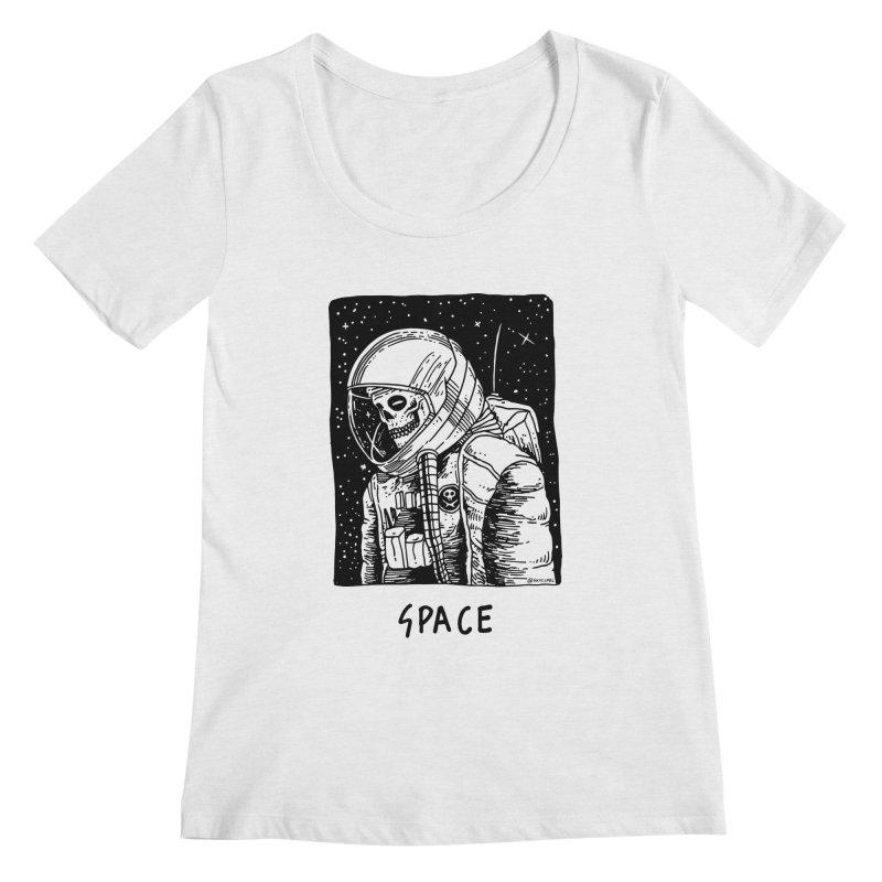 I Need Space Women's Regular Scoop Neck by skullpelillustrations's Artist Shop