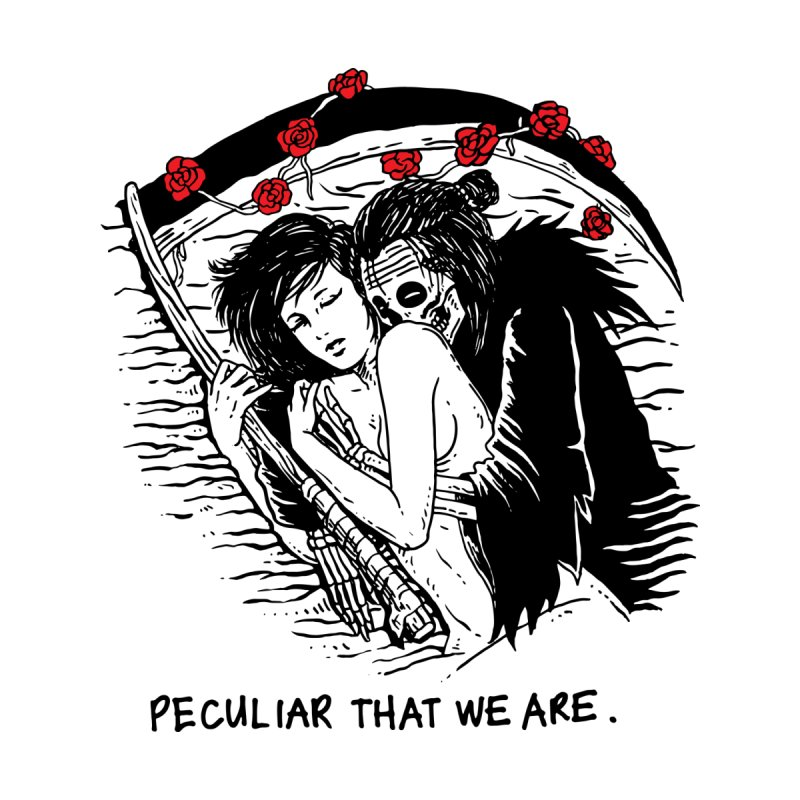 Peculiar Lovers That We Are by skullpel illustrations's Artist Shop