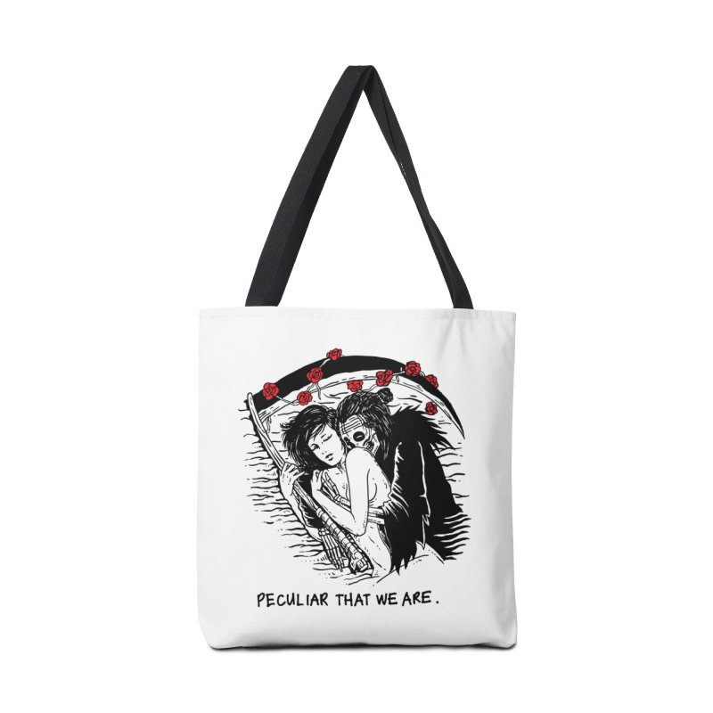 Peculiar Lovers That We Are Accessories Bag by skullpelillustrations's Artist Shop