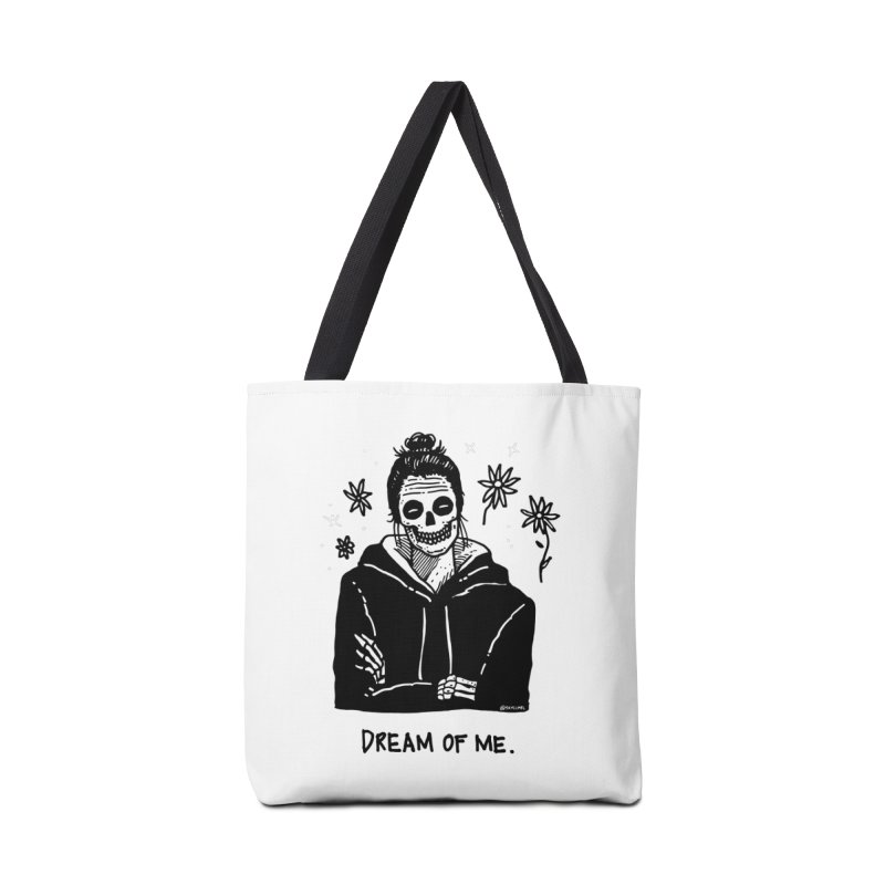 Dream Of Me Accessories Bag by skullpelillustrations's Artist Shop