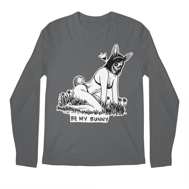 Be My Bunny Men's Regular Longsleeve T-Shirt by skullpelillustrations's Artist Shop