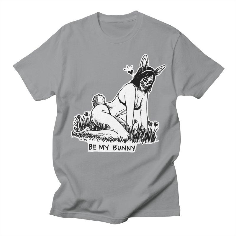 Be My Bunny Men's T-Shirt by skullpelillustrations's Artist Shop