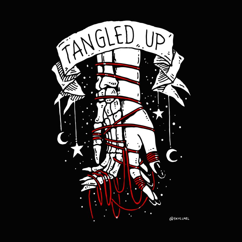 Tangled Up With You by skullpelillustrations's Artist Shop