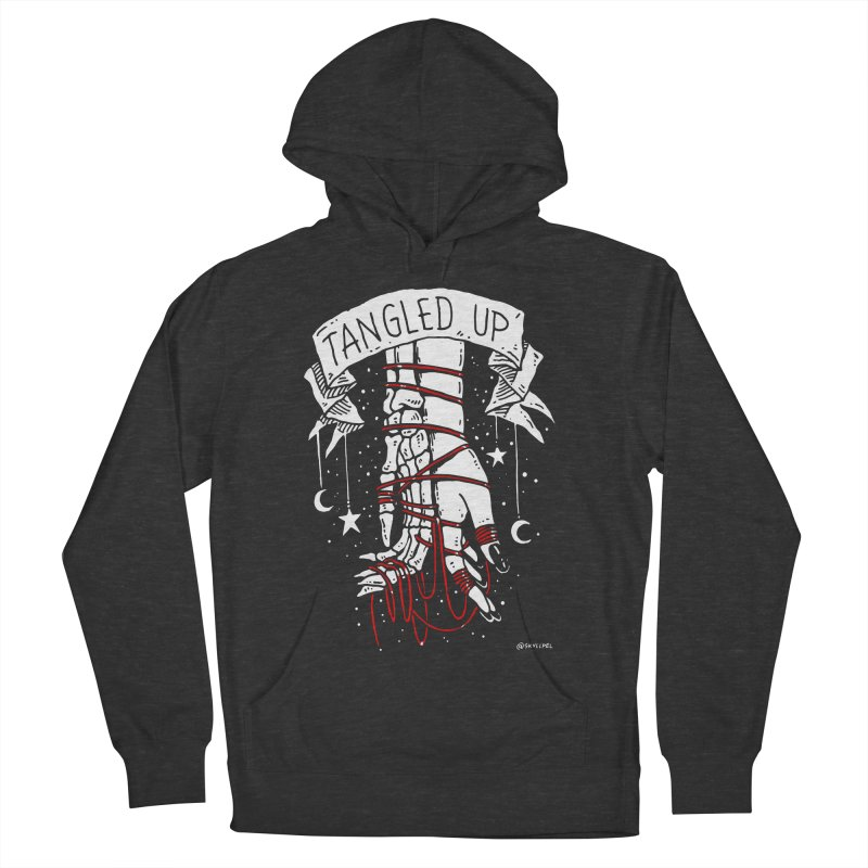 Tangled Up With You Women's French Terry Pullover Hoody by skullpelillustrations's Artist Shop