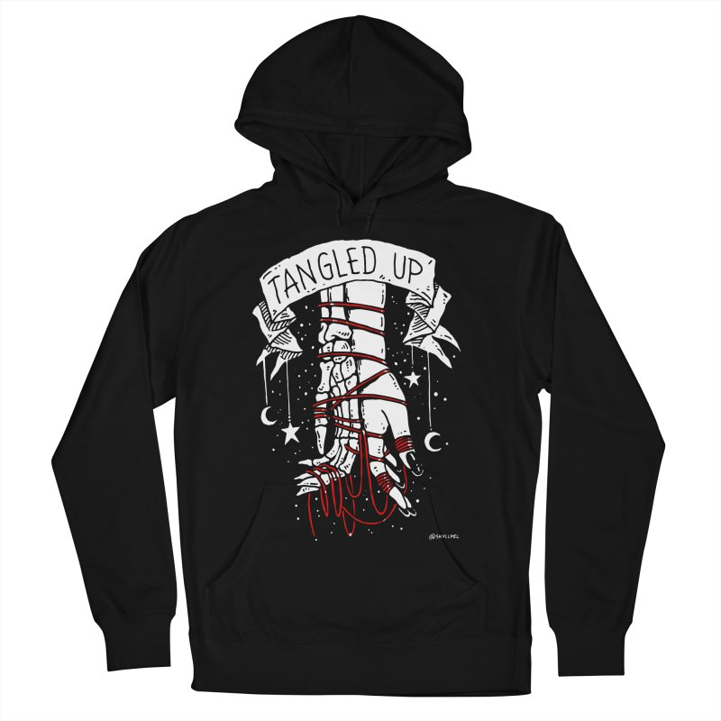 Tangled Up With You Men's French Terry Pullover Hoody by skullpelillustrations's Artist Shop