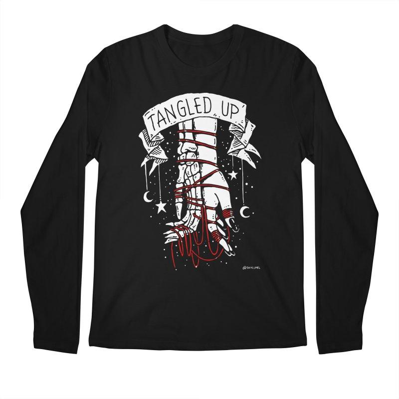 Tangled Up With You Men's Regular Longsleeve T-Shirt by skullpelillustrations's Artist Shop