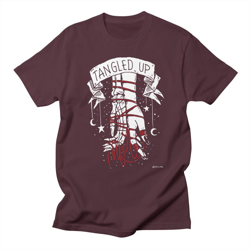 Tangled Up With You Men's T-Shirt by skullpelillustrations's Artist Shop