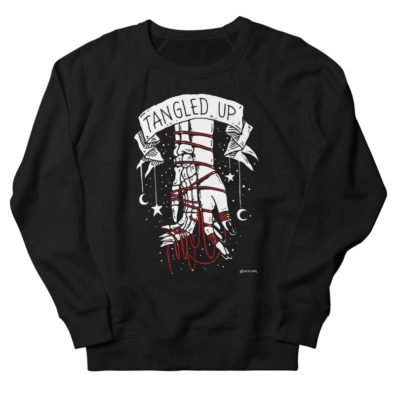 Tangled Up With You Women's French Terry Sweatshirt by skullpelillustrations's Artist Shop