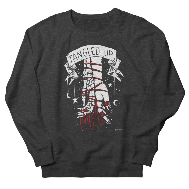 Tangled Up With You Men's French Terry Sweatshirt by skullpelillustrations's Artist Shop