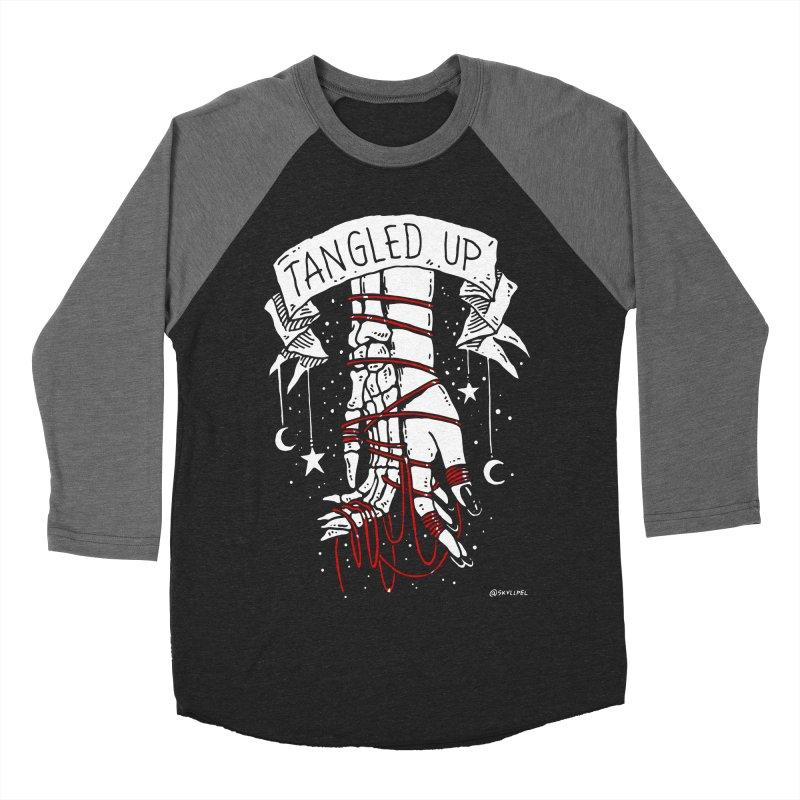 Tangled Up With You Men's Baseball Triblend Longsleeve T-Shirt by skullpelillustrations's Artist Shop