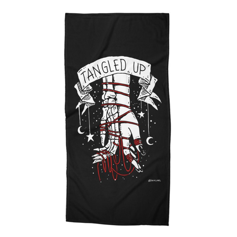 Tangled Up With You Accessories Beach Towel by skullpelillustrations's Artist Shop