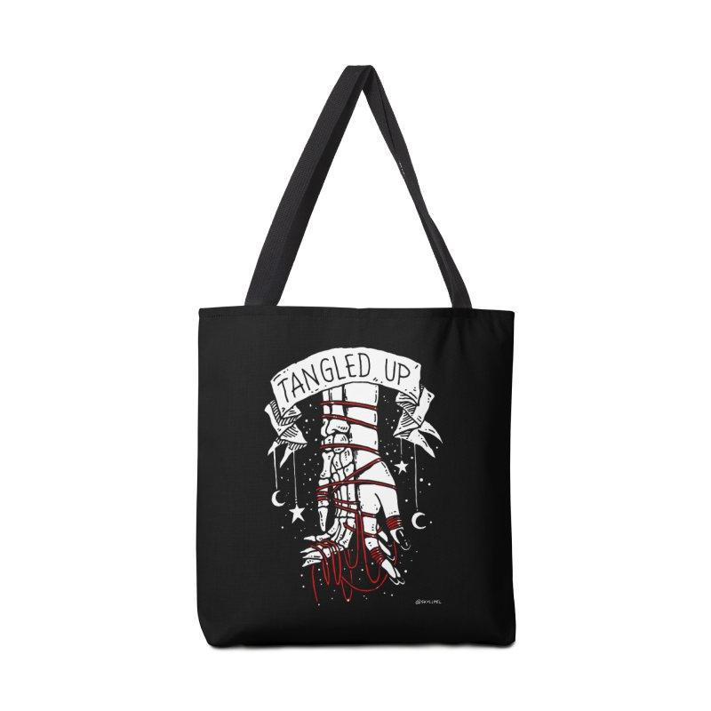 Tangled Up With You Accessories Bag by skullpelillustrations's Artist Shop
