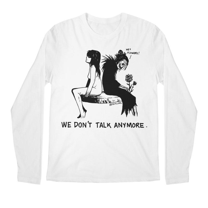 We Don't Talk Anymore Men's Longsleeve T-Shirt by skullpelillustrations's Artist Shop