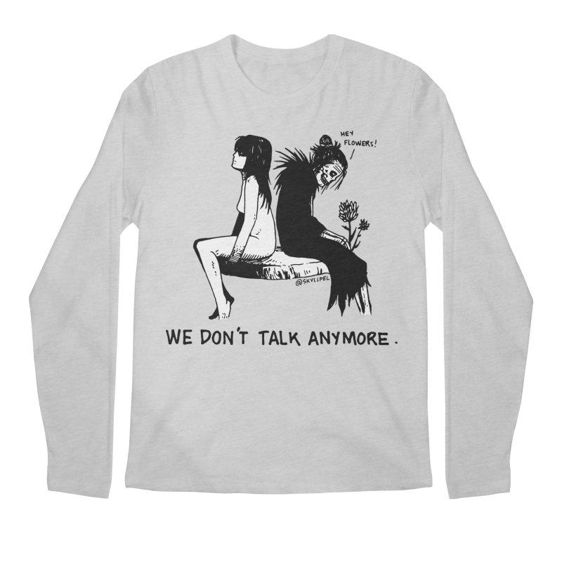 We Don't Talk Anymore Men's Regular Longsleeve T-Shirt by skullpelillustrations's Artist Shop
