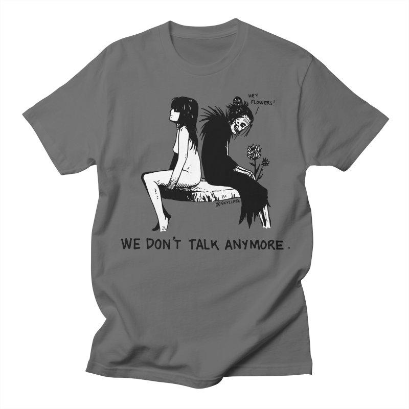 We Don't Talk Anymore Men's Regular T-Shirt by skullpelillustrations's Artist Shop