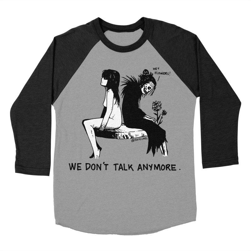 We Don't Talk Anymore Men's Baseball Triblend Longsleeve T-Shirt by skullpelillustrations's Artist Shop