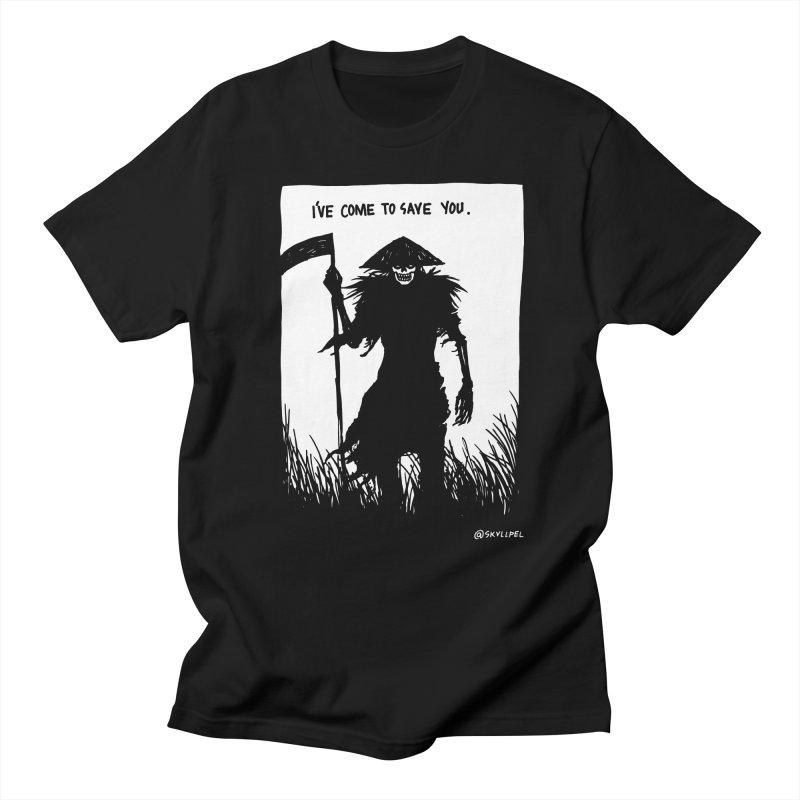 I Have Come To Save You Men's Regular T-Shirt by skullpelillustrations's Artist Shop