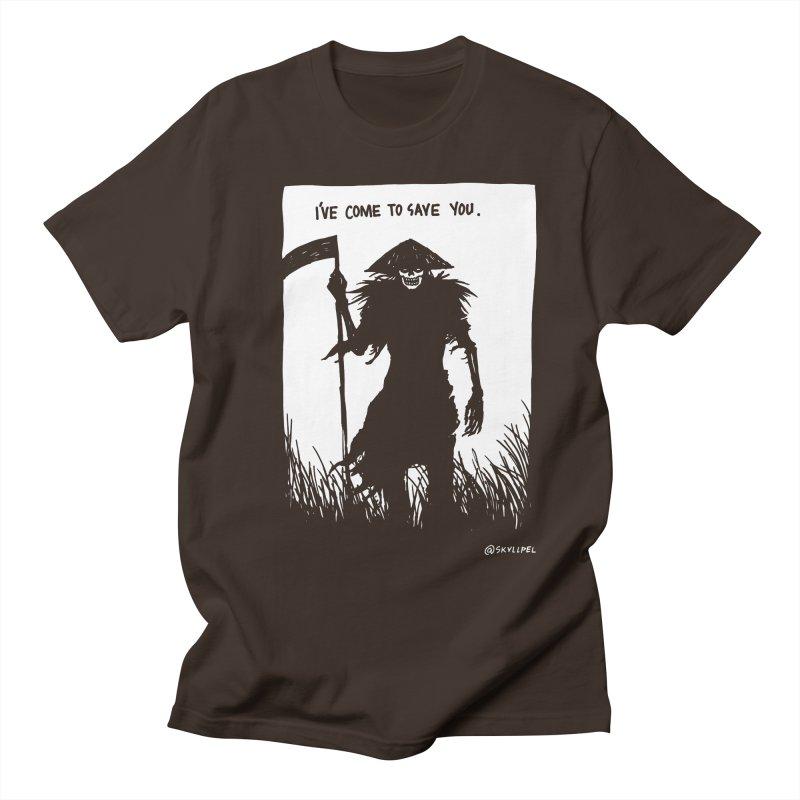 I Have Come To Save You Men's T-Shirt by skullpelillustrations's Artist Shop