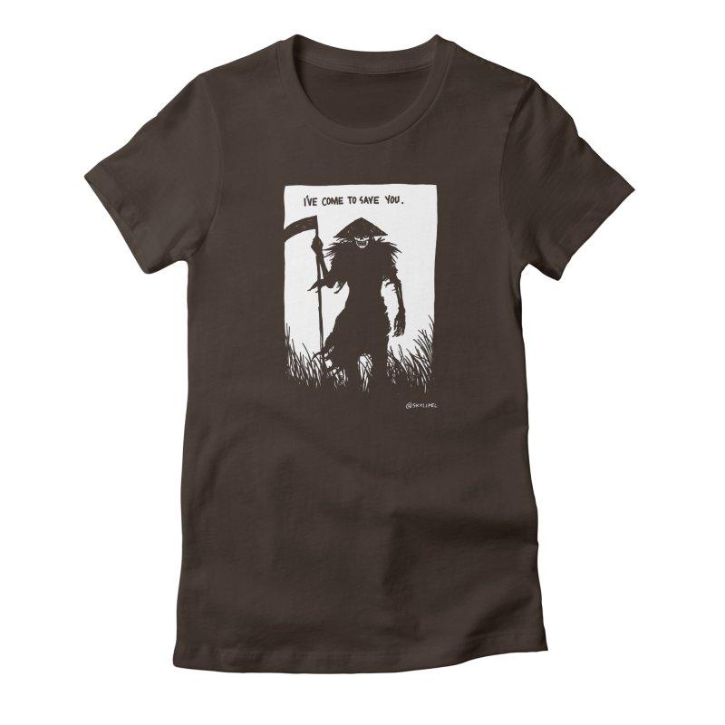 I Have Come To Save You Women's T-Shirt by skullpelillustrations's Artist Shop