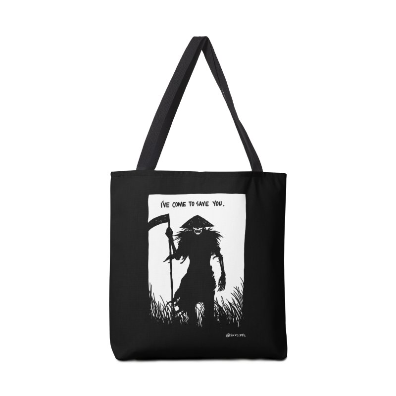 I Have Come To Save You Accessories Bag by skullpelillustrations's Artist Shop