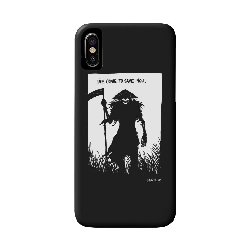 I Have Come To Save You Accessories Phone Case by skullpelillustrations's Artist Shop