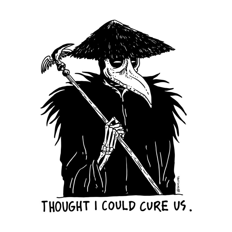 Thought I Could Cure Us by skullpelillustrations's Artist Shop