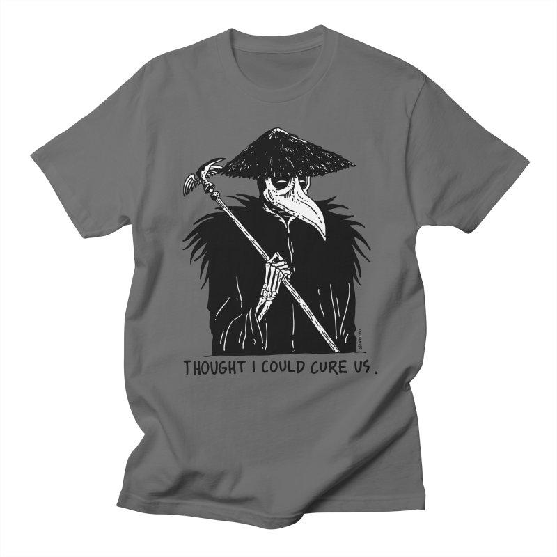 Thought I Could Cure Us Men's Regular T-Shirt by skullpelillustrations's Artist Shop