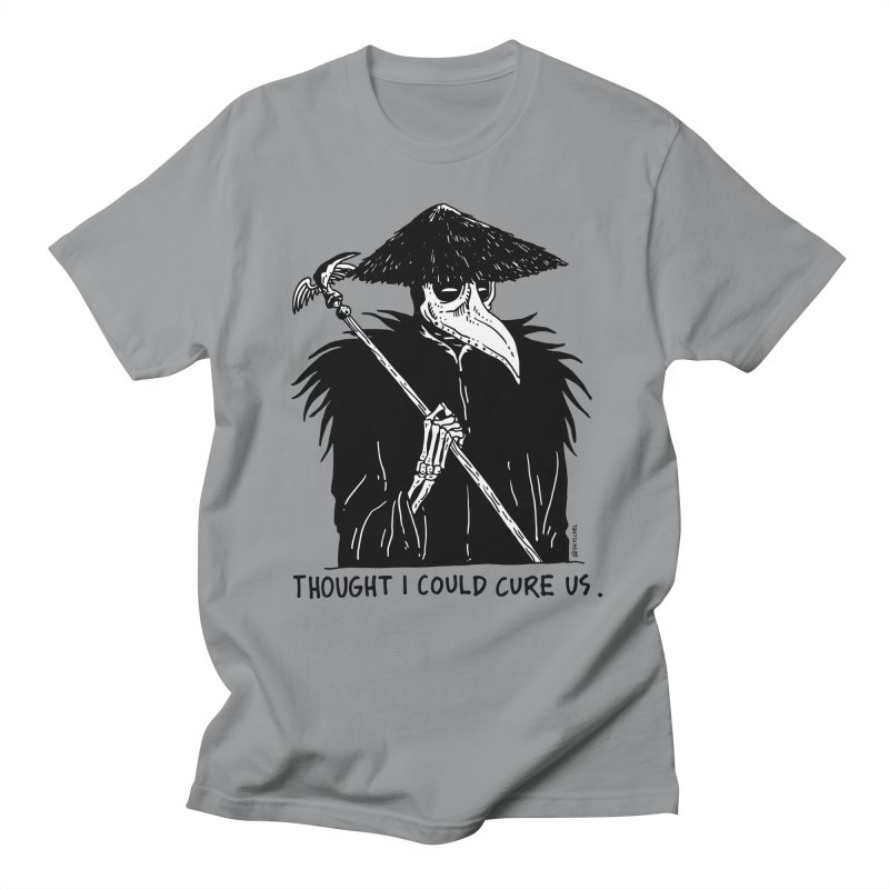 Thought I Could Cure Us Men's T-Shirt by skullpelillustrations's Artist Shop