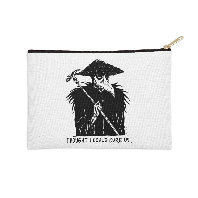 Thought I Could Cure Us Accessories Zip Pouch by skullpelillustrations's Artist Shop