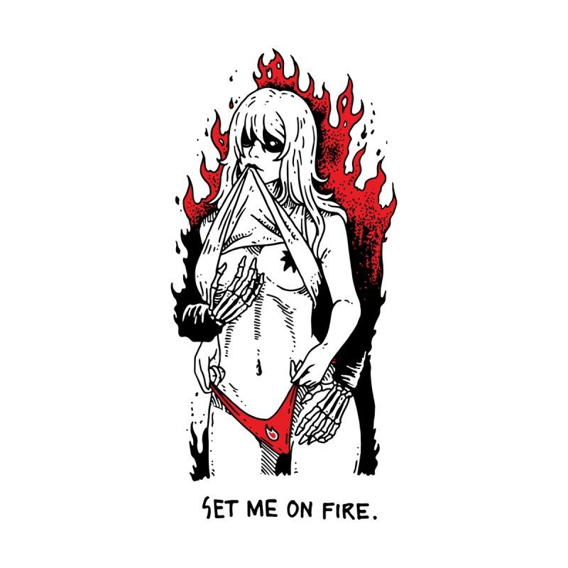 Set Me On Fire by skullpelillustrations's Artist Shop