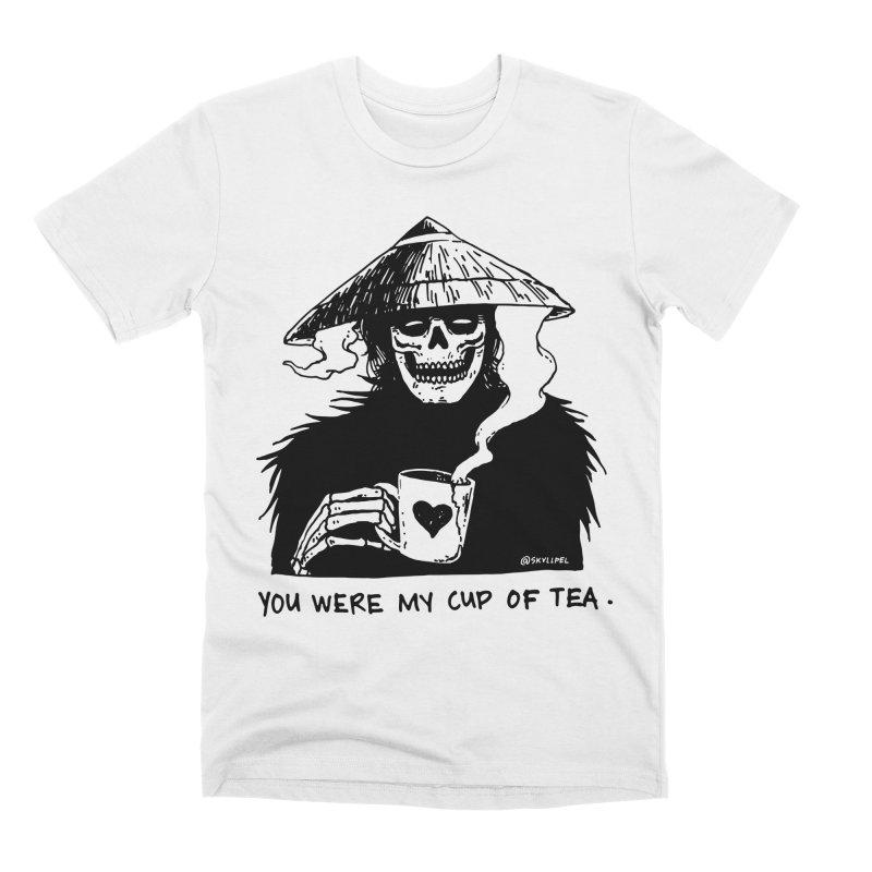You Were My Cup of Tea Men's Premium T-Shirt by skullpel illustrations's Artist Shop