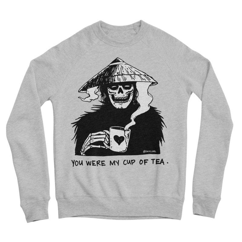 You Were My Cup of Tea Men's Sponge Fleece Sweatshirt by skullpelillustrations's Artist Shop