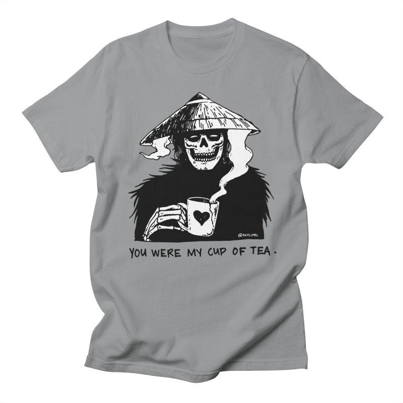 You Were My Cup of Tea Women's Regular Unisex T-Shirt by skullpel illustrations's Artist Shop