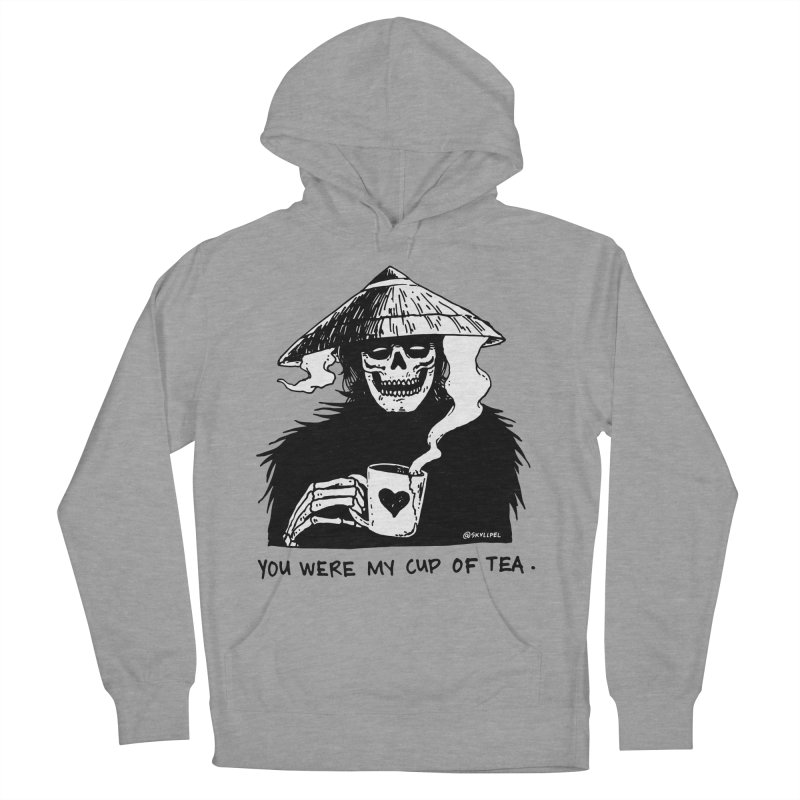 You Were My Cup of Tea Men's French Terry Pullover Hoody by skullpelillustrations's Artist Shop