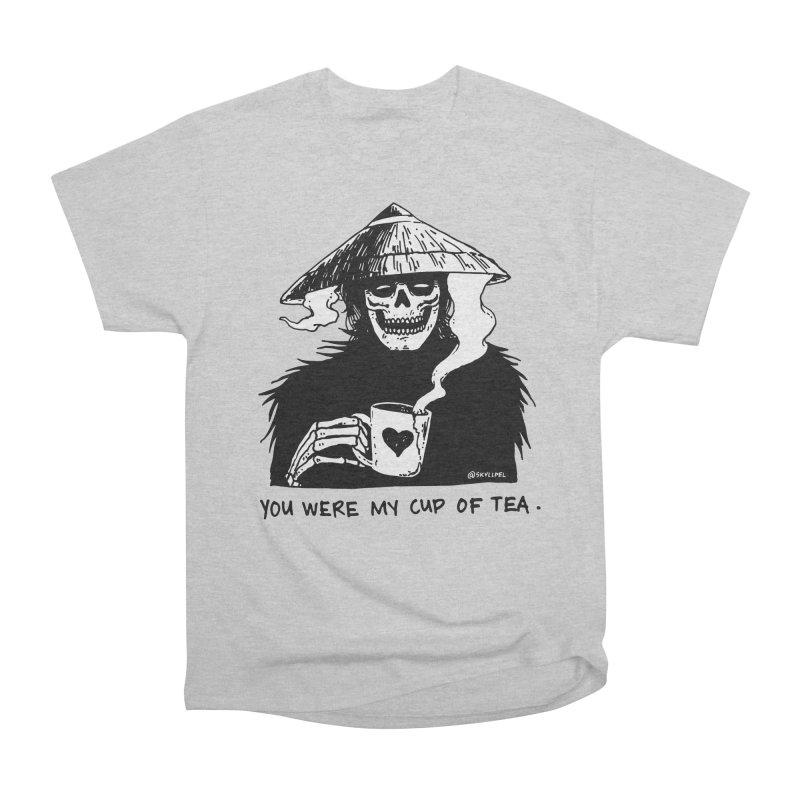 You Were My Cup of Tea Men's Heavyweight T-Shirt by skullpelillustrations's Artist Shop