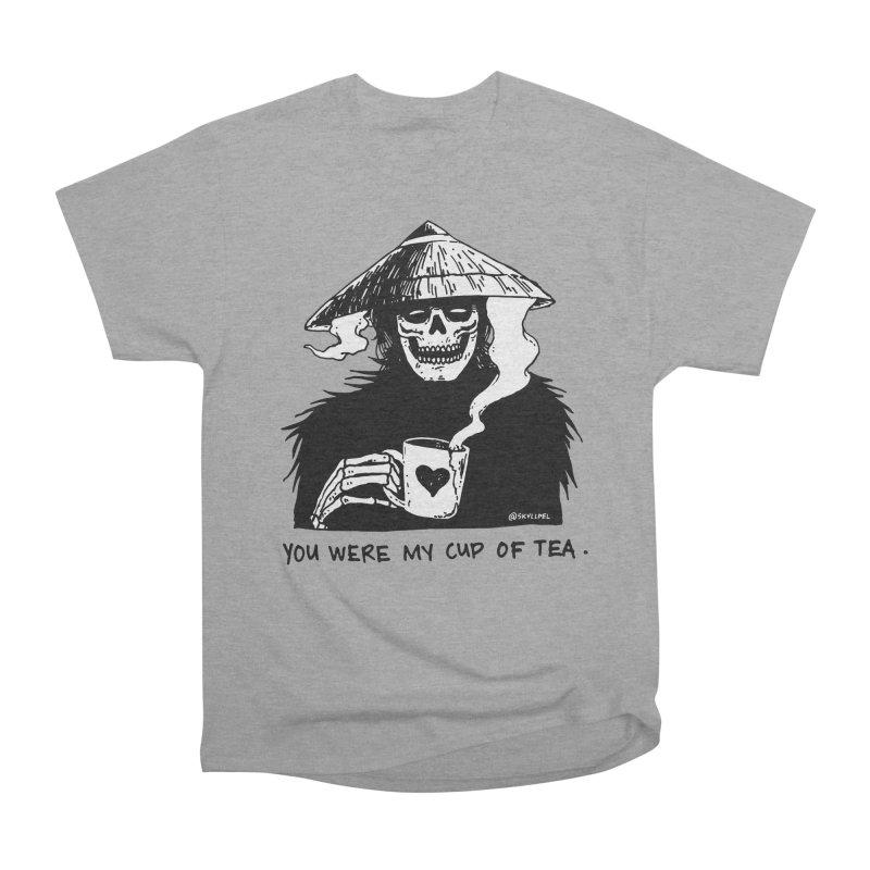 You Were My Cup of Tea Women's Heavyweight Unisex T-Shirt by skullpelillustrations's Artist Shop