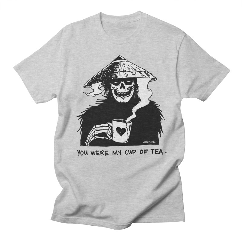 You Were My Cup of Tea Men's Regular T-Shirt by skullpelillustrations's Artist Shop