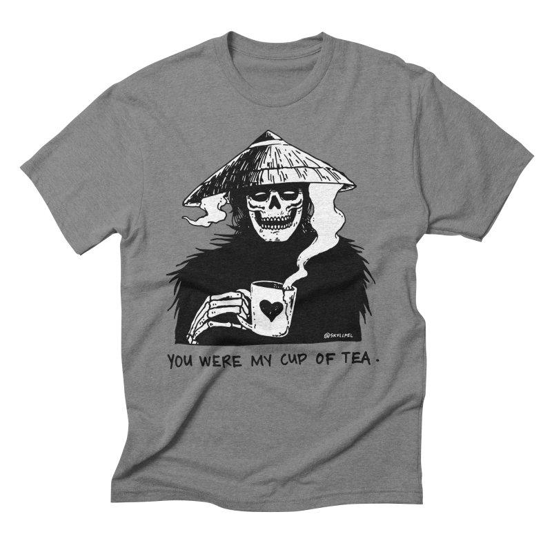 You Were My Cup of Tea Men's Triblend T-Shirt by skullpel illustrations's Artist Shop