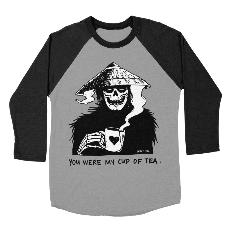 You Were My Cup of Tea Women's Baseball Triblend Longsleeve T-Shirt by skullpel illustrations's Artist Shop