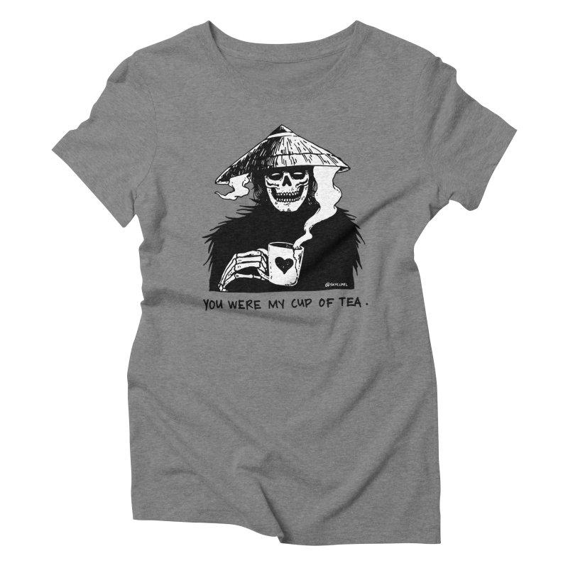 You Were My Cup of Tea Women's Triblend T-Shirt by skullpelillustrations's Artist Shop