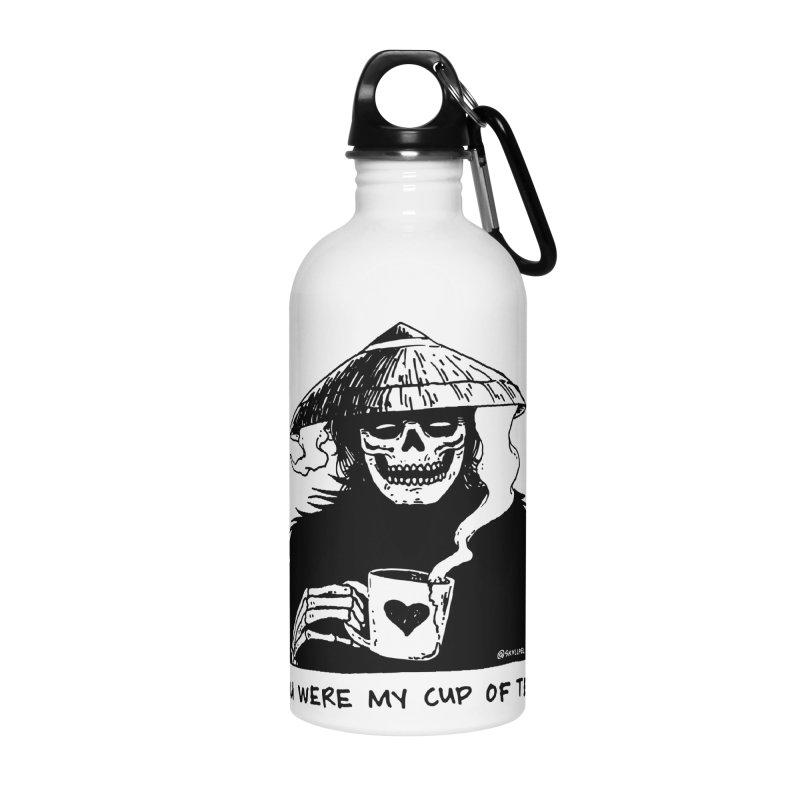 You Were My Cup of Tea Accessories Water Bottle by skullpel illustrations's Artist Shop