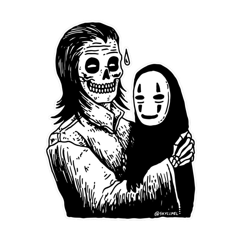 Godparenting Scares Me by skullpelillustrations's Artist Shop