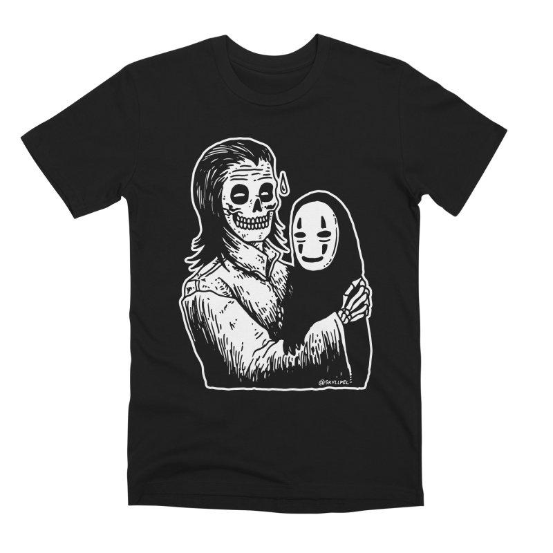 Godparenting Scares Me Men's Premium T-Shirt by skullpelillustrations's Artist Shop