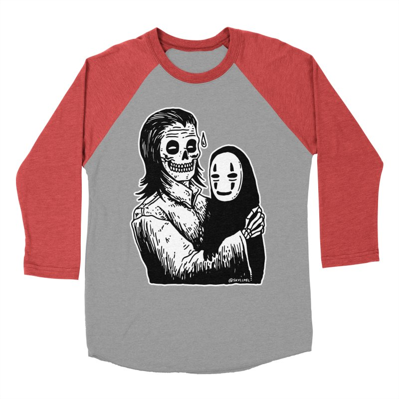 Godparenting Scares Me Men's Baseball Triblend Longsleeve T-Shirt by skullpelillustrations's Artist Shop