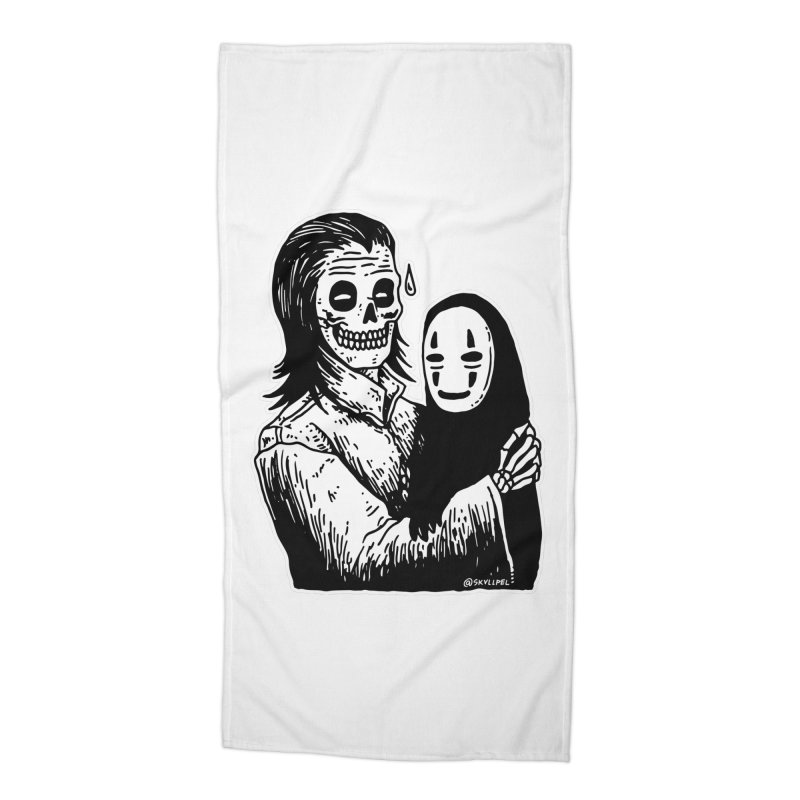 Godparenting Scares Me Accessories Beach Towel by skullpelillustrations's Artist Shop