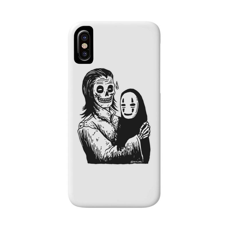 Godparenting Scares Me Accessories Phone Case by skullpelillustrations's Artist Shop