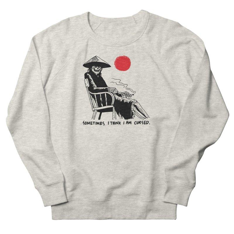Sometimes I Think I'm Cursed Men's French Terry Sweatshirt by skullpelillustrations's Artist Shop