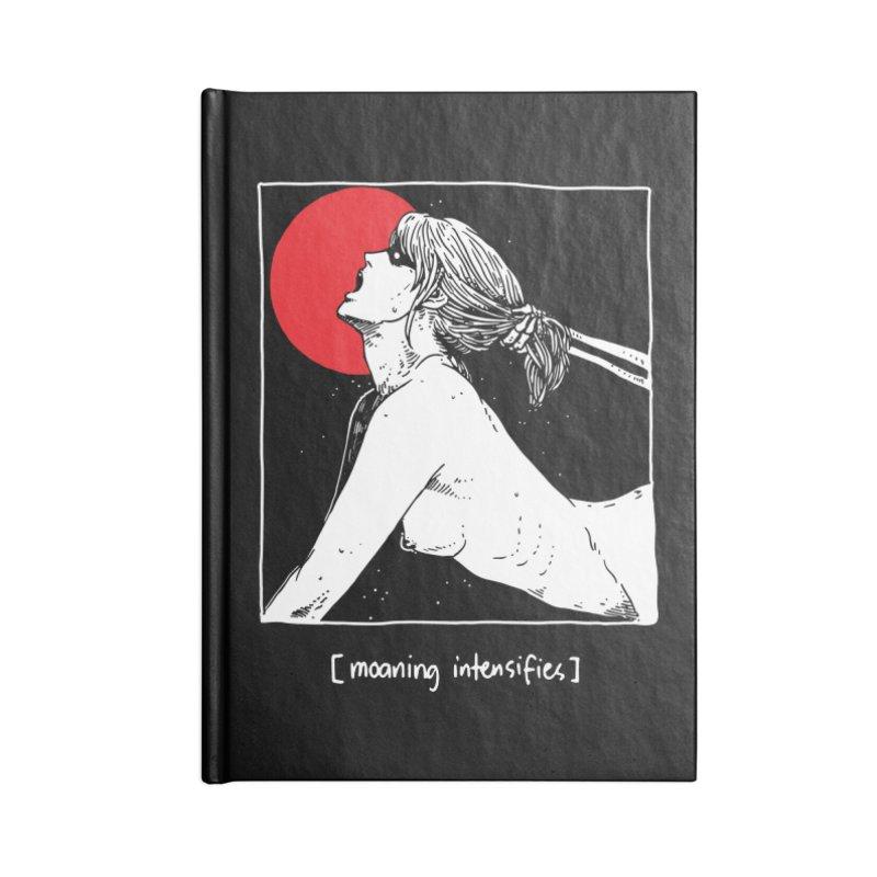 [Moaning intensifies] Accessories Blank Journal Notebook by skullpel illustrations's Artist Shop