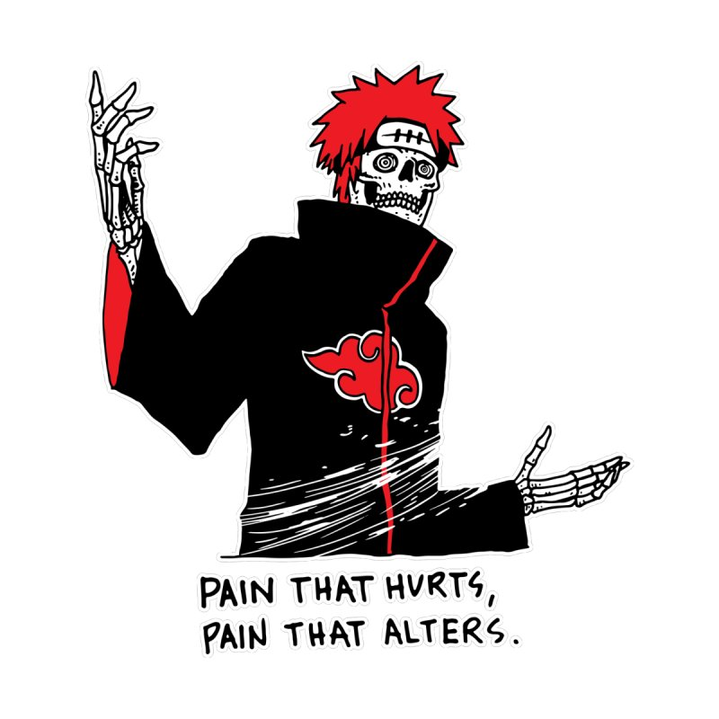 There Are Two Kinds Of Pain by skullpelillustrations's Artist Shop