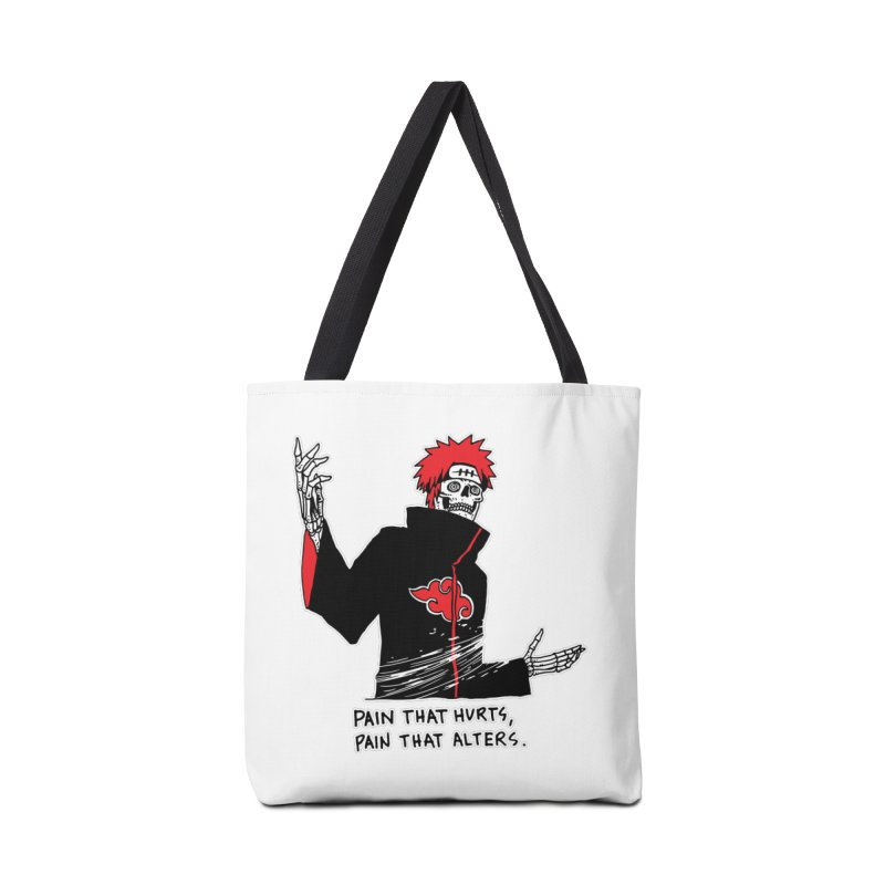 There Are Two Kinds Of Pain Accessories Bag by skullpelillustrations's Artist Shop